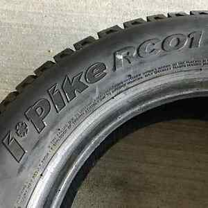 "Hankook iPike RC01 14"" winter tires.  Used one (1) season only!! London Ontario image 5"