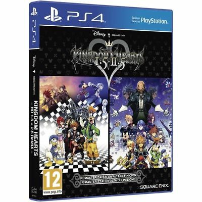 KINGDOM HEARTS HD 1.5 + 2.5 RMX PS4 GIOCO PLAY STATION 4 COPERTINA EU ITALIANO