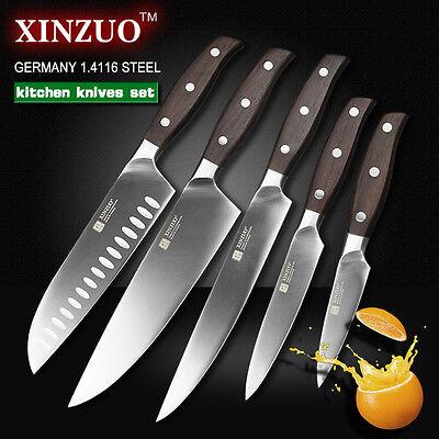 Кухонные и ножи 5Pcs Set Knives