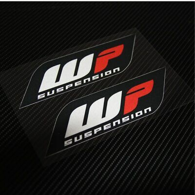 Motorcycle Sticker Decal Emblem For WP suspension 2 pieces