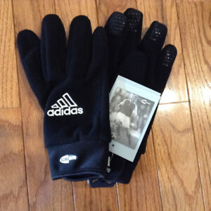 Adidas Soccer Player Gloves.  Adult Size 8. Brand new.