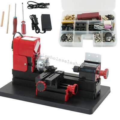 Multifunctional 6 In 1 Lathe Wood Diy Tool Kit Jigsaw Milling Drilling Machine