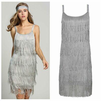 1920er Jahre Peaky Blinder Charleston Great Gatsby Womens Flapper Kleid - 1920er Jahren Flapper Kleid Kostüm