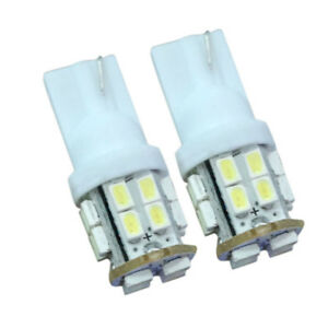 2x Xenon White T10/921/194 RV Trailer 20-SMD 12V Backup LED
