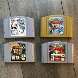 Nintendo 64 games for sale N64