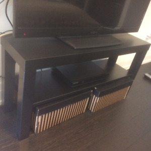 Like New Dark Brown TV STAND Condo Style GREAT CONDITION MOVING