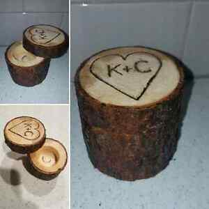 Custom Wood Ring, Jewellry, Earring, Watch, Tooth Fairy Boxes Strathcona County Edmonton Area image 1