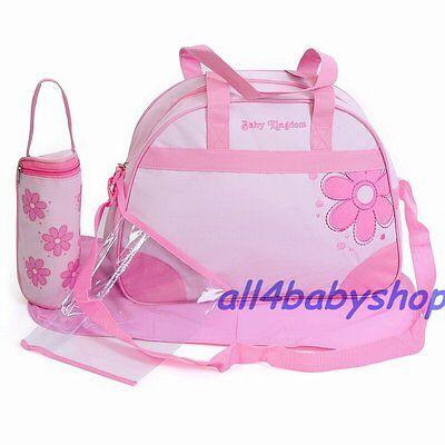 Pink 4PCs Baby Windel Windel Wechsel Schlafsäcke Blumenmuster 1618