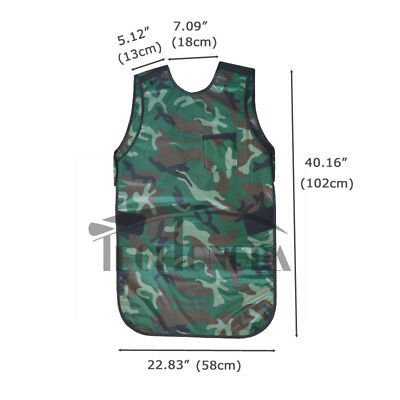 L Size 0.35mmpb Camouflage X-ray Protection Apron No-lead Protective Vestcollar