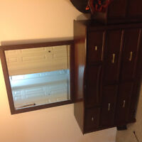 Three prices King Size Bedroom set with metress for sale