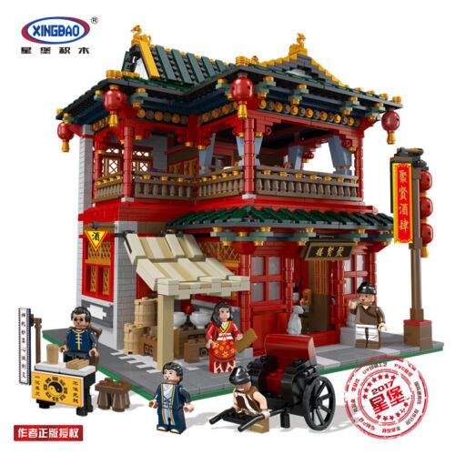 Xingbao Building Blocks Easter The Chinese Theater Model Kids Toys Gifts 3820PCS