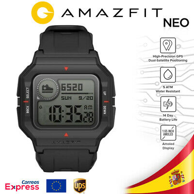 (envio 24h) AMAZFIT Neo Smartwatch Negro - Version EU
