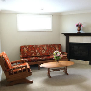 BASEMENT FOR RENT IN VAUDREUIL DORION(only for women)