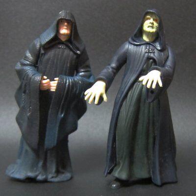 2x Hasbro Star Wars Action Figure Toys Darth Sidious Emperor Palpatine
