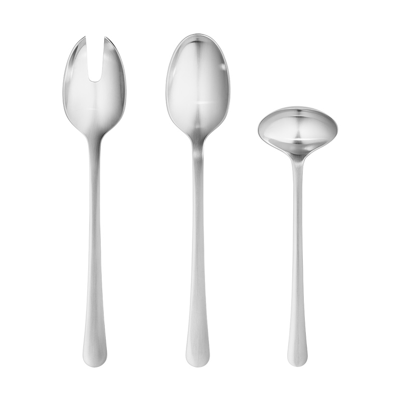 Copenhagen by Georg Jensen Stainless Steel Flatware Sauce Gravy Ladle Server New