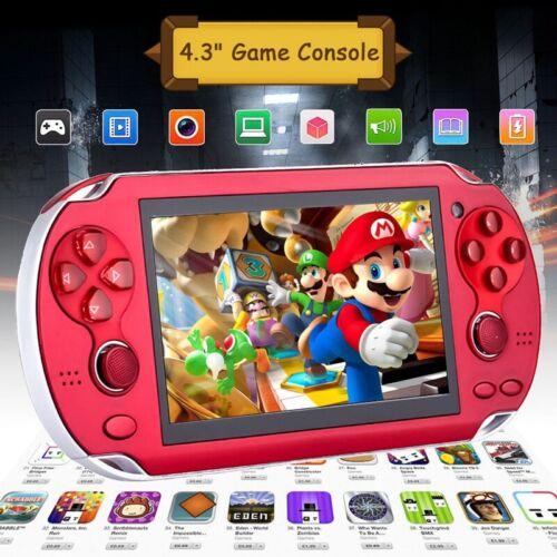 8GB Handheld PSP Spielkonsole Player Spiele Konsole 4.3'' Tragbare Konsolen AV