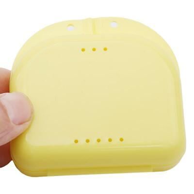 Dental Retainer Orthodontic Mouthguard Denture Storage Cases Box N3