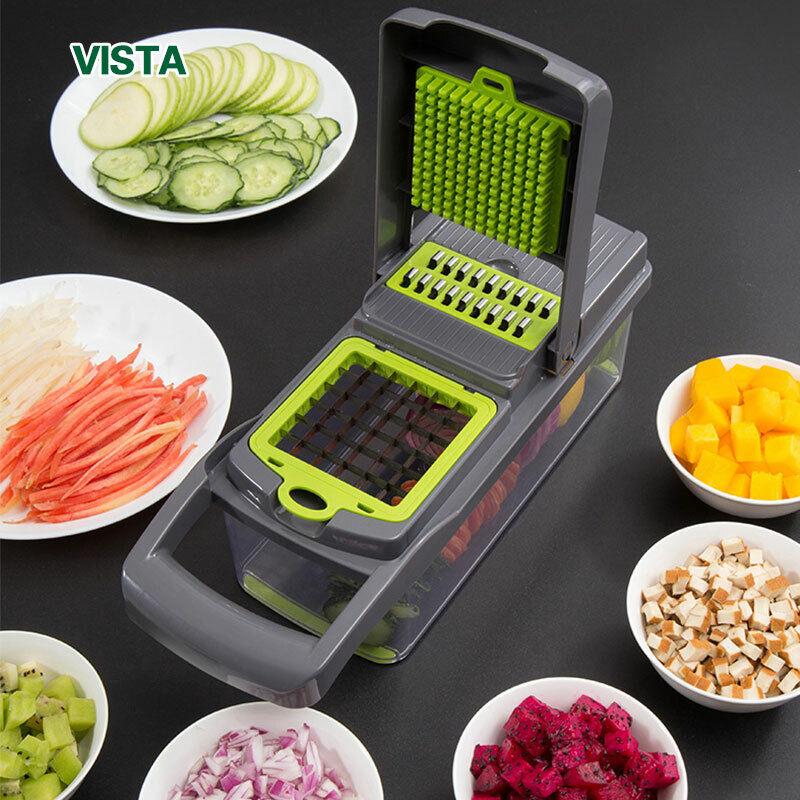7 Function Vegetable Cutter Mandoline Slicer Fruit Potato Pe