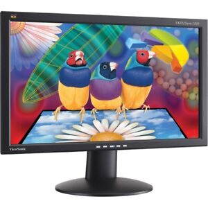 "22"" ViewSonic LED Widescreen Led Monitor"