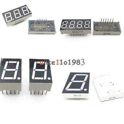 7 Segment 0.56/1.8/0.36 /0.5inch 1/3/4 Digit Common Cathode/Anode Led Display ()