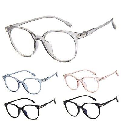 Women's Oval Candy Color Non-prescription Eyeglasses Clear Lens (Candies Prescription Sunglasses)