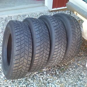 Winter Tires 205/75/15 Kitchener / Waterloo Kitchener Area image 2