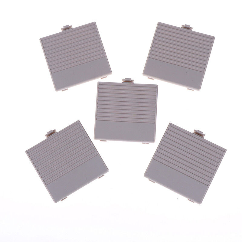 5Pcs Replacement Gray Nintendo Gameboy Classic DMG Battery Cover XS NMUS
