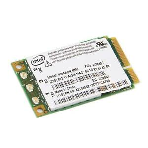 Intel Wireless WiFi Link Network Card - 300Mbps - 802.11 a/b/g/n - Mini PCI-E