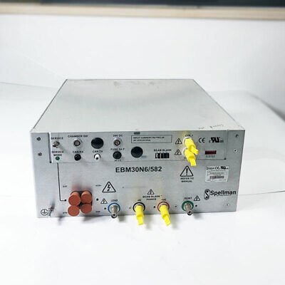 Used Spellman E-beam Column High Voltage Power Supply Ebm30n6582
