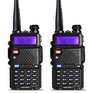 Paintball/Airsoft Tactical Comms, Set of 2 BAOFENG UV-5R