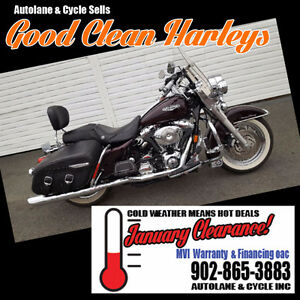 2005 Harley Davidson Road King Classic ORIGINAL AMAZING SHAPE