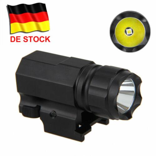 3000Lm Gewehrlicht Taschenlampe Picatinny Montieren Pistole Jagd Licht Lampe