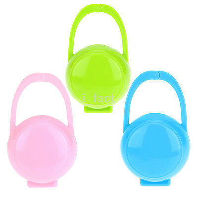 UP Portable Unisex Baby Boy Girl Infant Pacifier Nipple Cradle Case Holder Box