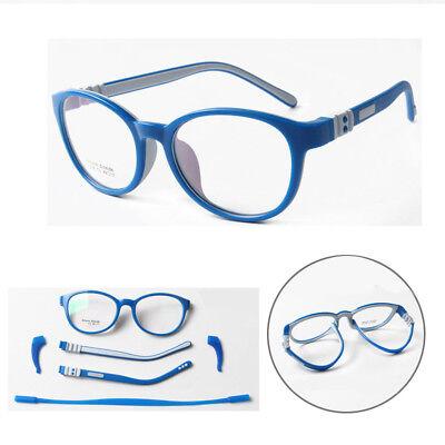 Silicone Frame Children Clear Myopia Glasses Flexible Eyegla