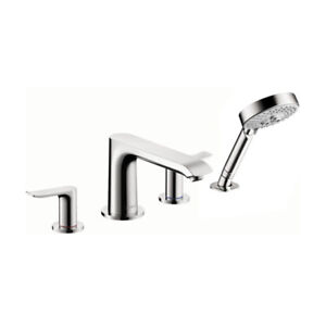 Hansgrohe 31444001 Metris 4 Hole Roman Tub Set Trim Chrome