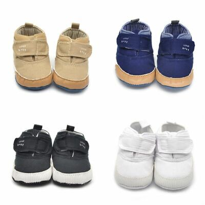 Infant Toddler Baby Boy Girl Soft Sole Crib Shoes Prewalker Newborn Kid Sneaker