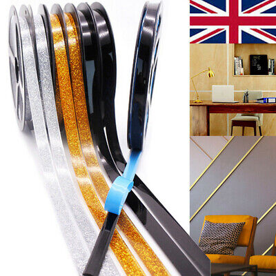 Ceramic Tile Mildewproof Gap Tape Self-Adhesive Ceiling Edge Deco Trim Strips UK