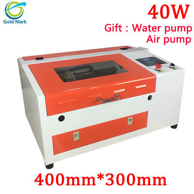 4030 40w Co2 Laser Engraving Machine With Honeycomb Table 300400mm High Speed