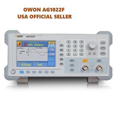 Owon Dds Arbitrary Waveform Generation Ag1022f 125msas 14bits 25mhz 2ch Usb Fm