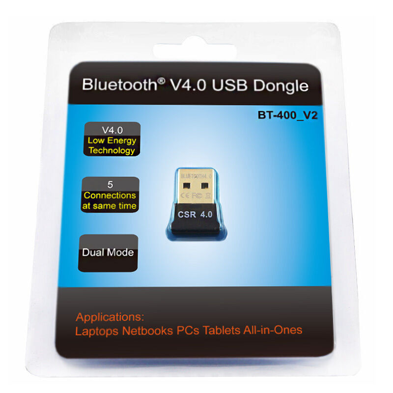 Dual Mode Bluetooth 4 0 Usb Dongle Adapter Low Energy