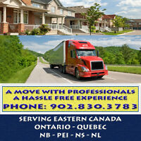 EASTERN CANADA MOVING - MOVING FURNITURE IS OUR SPECIALITY