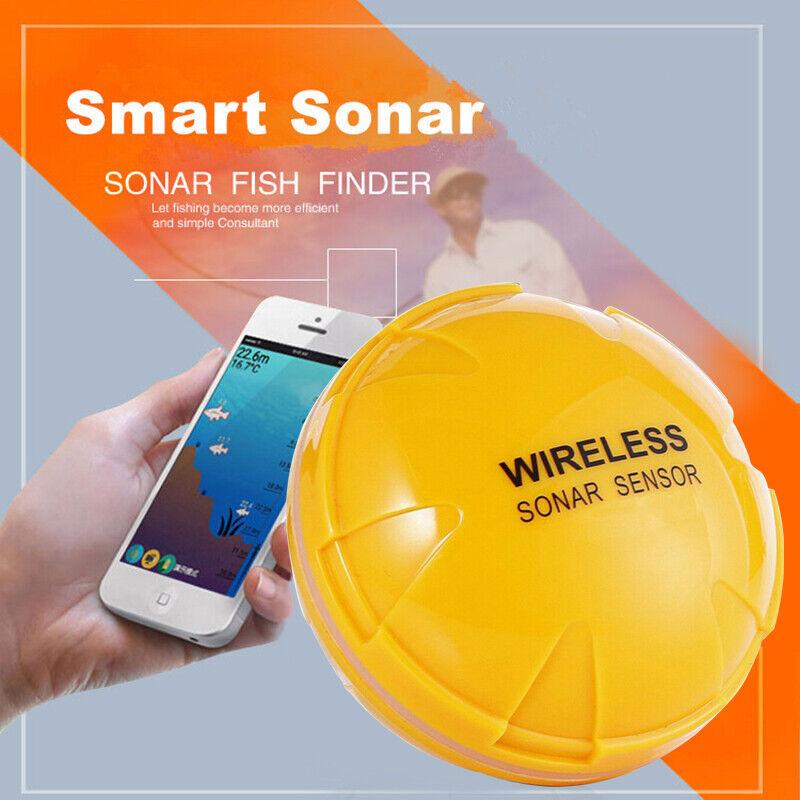 Wireless bluetooth remote Sonar Fish Finder Depth Detector A
