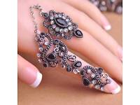 Women Two Finger Rings
