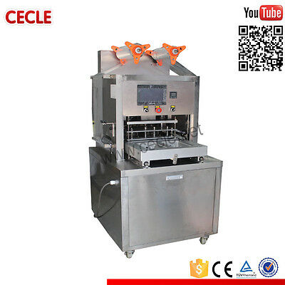 Map Food Tray Packing Machine Industrial Restaurant Kitchen Equipment