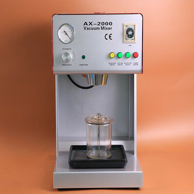 1 Piece New Ce Approved Vacuum Mixer Dental Laboratory Equipment Ax-2000b
