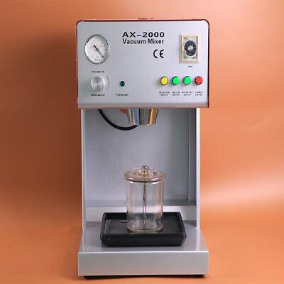 1 Pcs New Dental Vacuum Mixer Dental Laboratory Equipment Ax-2000b Ce Approved