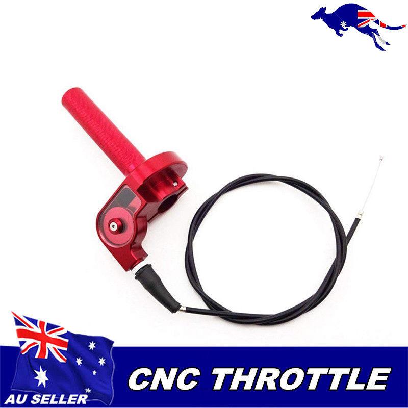 "1//4 7//8/"" Turn Twist Throttle Clamp Housing Pit PRO Trail Dirt Bike ATV 22MM"
