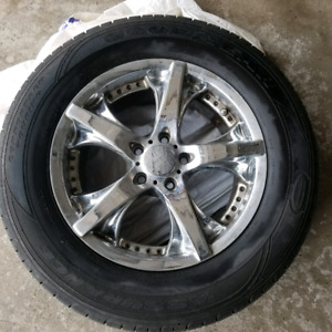 4 Goodyear Assurance Comfortred Touring tires 235/65R17