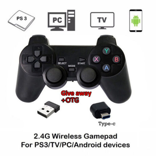 Kabellos USB Gamepad Joystick Gaming Joypad Game Controller für PS3 /Android Neu