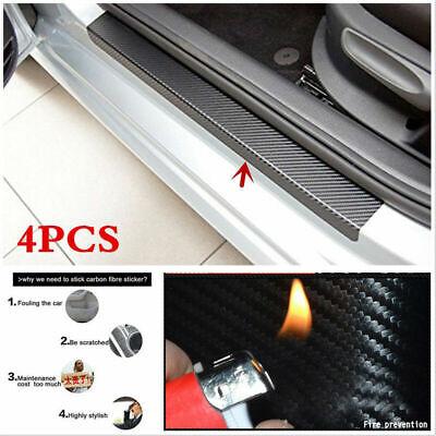 4pcs Auto Einstiegsleisten Lackschutz Tür Schutzfolie Scuff Schutz Aufkleber DIY
